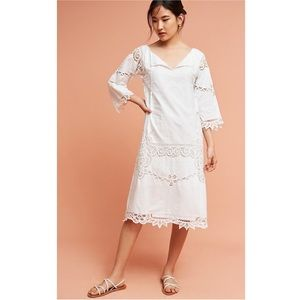 Anthropologie Place Nationale Saleya Lace Dress